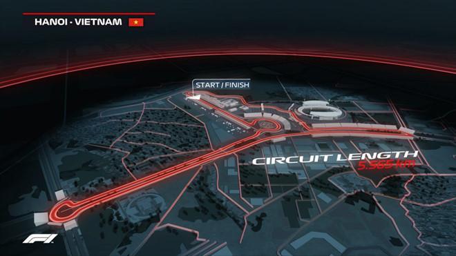 Trường đua F1,đua xe F1,đua xe,sân vận động Mỹ Đình