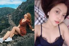 Bạn gái Quang Hải bị chỉ trích vì mặc váy ngắn, tạo dáng phản cảm