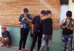 Nhóm thanh niên dương tính với ma túy tàng trữ hung khí 'nóng'