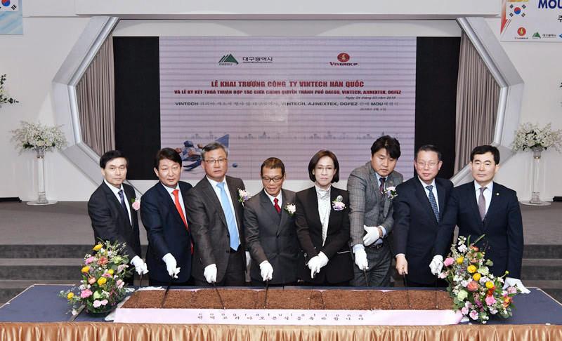 VinTech khai trương văn phòng đầu tiên tại nước ngoài