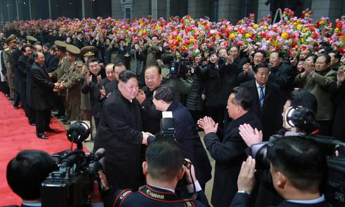 Ông Kim Jong Un đã về đến Bình Nhưỡng