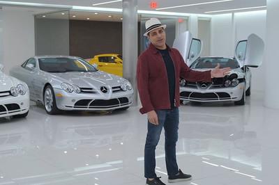 Đại gia gốc Iran sở hữu 5 siêu xe Mercedes SLR McLaren