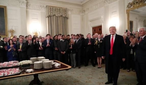 Donald Trump,đồ ăn nhanh,Nhà Trắng