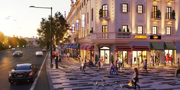 Chuẩn shophouse kinh doanh thời trang ở Hạ Long