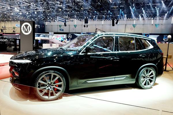 VinFast trình làng SUV Lux phiên bản đặc biệt ở Thụy Sỹ