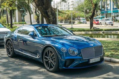 Ngắm Bentley Continental GT 25 tỷ đồng của đại gia Sài thành