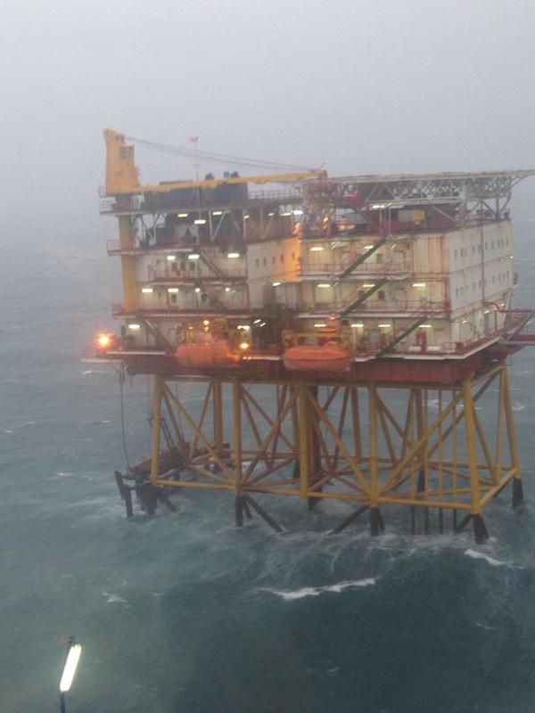 Doanh nghiệp dầu khí ứng phó hiệu quả bão số 9