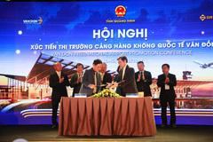 Hàng không quốc tế liên tiếp ký hợp tác với sân bay Vân Đồn