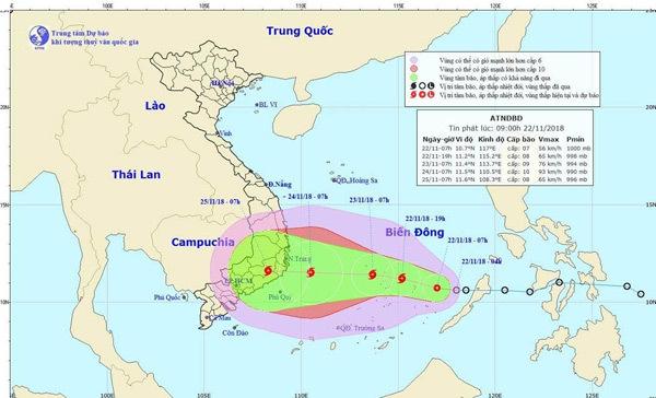 Vietsovpetro gấp rút ứng phó bão số 9