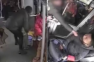 Bị bắt vì cho con tè trên xe buýt rồi tấn công tài xế