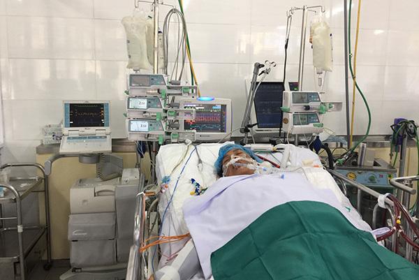 viêm cơ tim,bệnh tim,mổ bắt con,sinh mổ,hoàn cảnh khó khăn,người nghèo,từ thiện vietnamnet