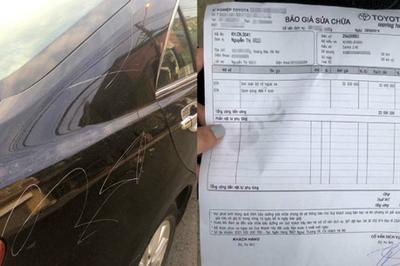 Rạch xe dằn mặt ô tô đỗ chắn cửa: Văn hoá trả đũa đáng xấu hổ
