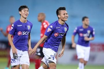 Quang Hải, Duy Mạnh háo hức đá trận derby Thủ đô