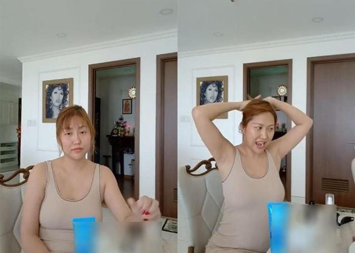 Phi Thanh Vân gây choáng với gương mặt nhợt nhạt, thân hình phát tướng