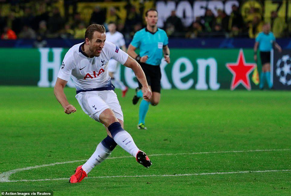 Harry Kane lập công, Tottenham bay vào tứ kết cúp C1