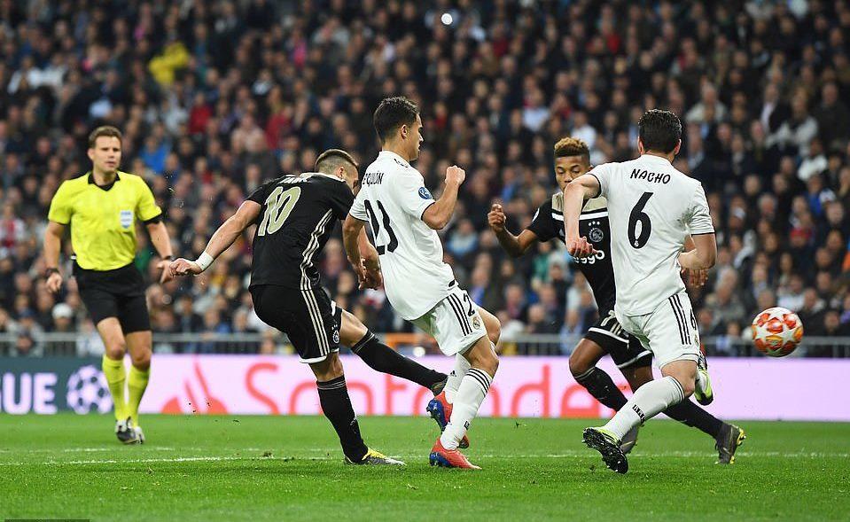 Real Madrid,Ajax