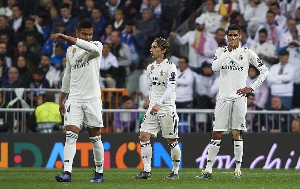 '. Kết quả Real Madrid 1 .'