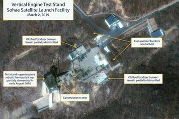 Triều Tiên bất ngờ khôi phục bãi phóng tên lửa đã phá hủy