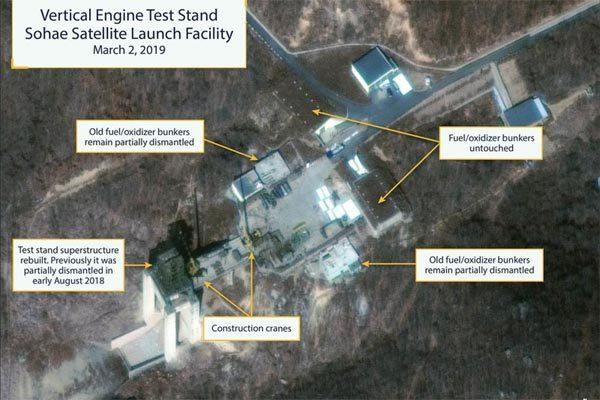 Triều Tiên,Hàn Quốc,bãi phóng tên lửa,hội nghị thượng đỉnh Mỹ Triều