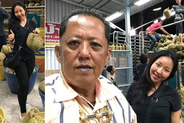 Hơn 10.000 chàng trai đăng ký làm con rể ông trùm sầu riêng Thái