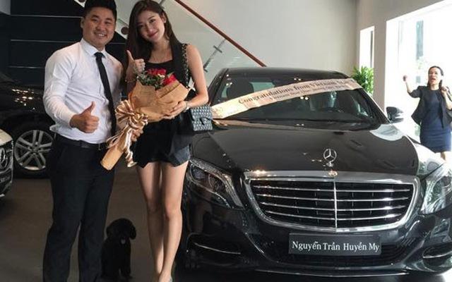 Á hậu Huyền My tậu xe thể thao Jaguar 6 tỷ