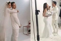 Rò rỉ hậu trường chụp 'ảnh cưới' của Kim Lý - Hồ Ngọc Hà, ai nấy đều phải khen: 'Quá đẹp đôi'
