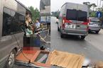 Tiết lộ khó tin về xe khách lao đuôi xe container khiến cán bộ công an tử vong