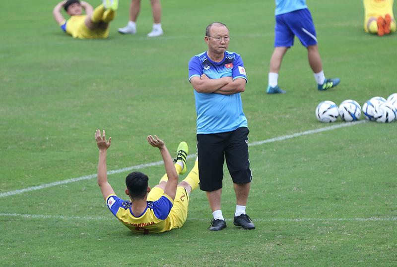 U23 Việt Nam,HLV Park Hang Seo,VFF