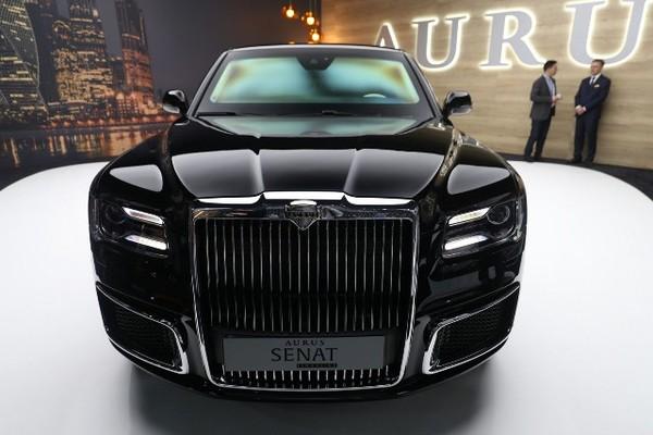 Siêu xe Aurus của Tổng thống Nga Putin tung bản thương mại