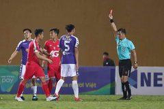 Văn Quyết bị thẻ đỏ, Hà Nội vẫn thắng dễ Viettel