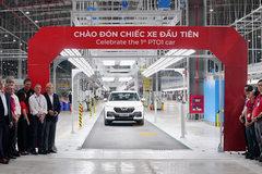 VinFast hoàn thành sản xuất thử nghiệm chiếc LUX SUV đầu tiên