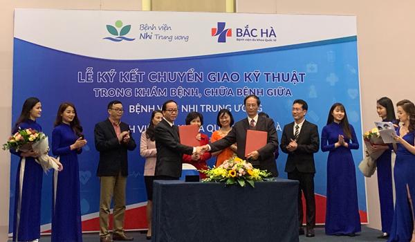 BV Bắc Hà hợp tác BV Nhi TƯ nâng chất lượng nhi khoa