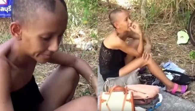 Mỹ nhân Thái Lan nhan sắc tàn tạ và ăn xin qua ngày ở tuổi 32