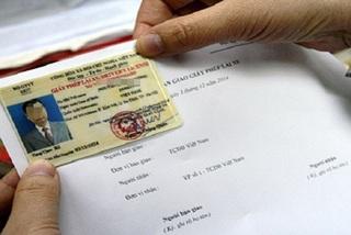 Mất giấy phép lái xe, được cấp lại như thế nào?
