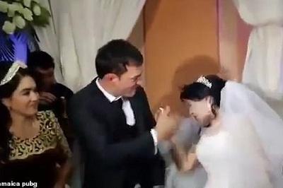 Lý do bất ngờ khiến chú rể tát cô dâu ngay ở lễ cưới