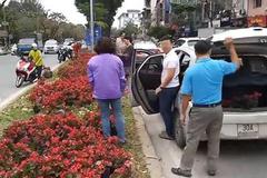 HN: Trích xuất camera, truy vụ người dân 'hôi... hoa' trên phố Kim Mã