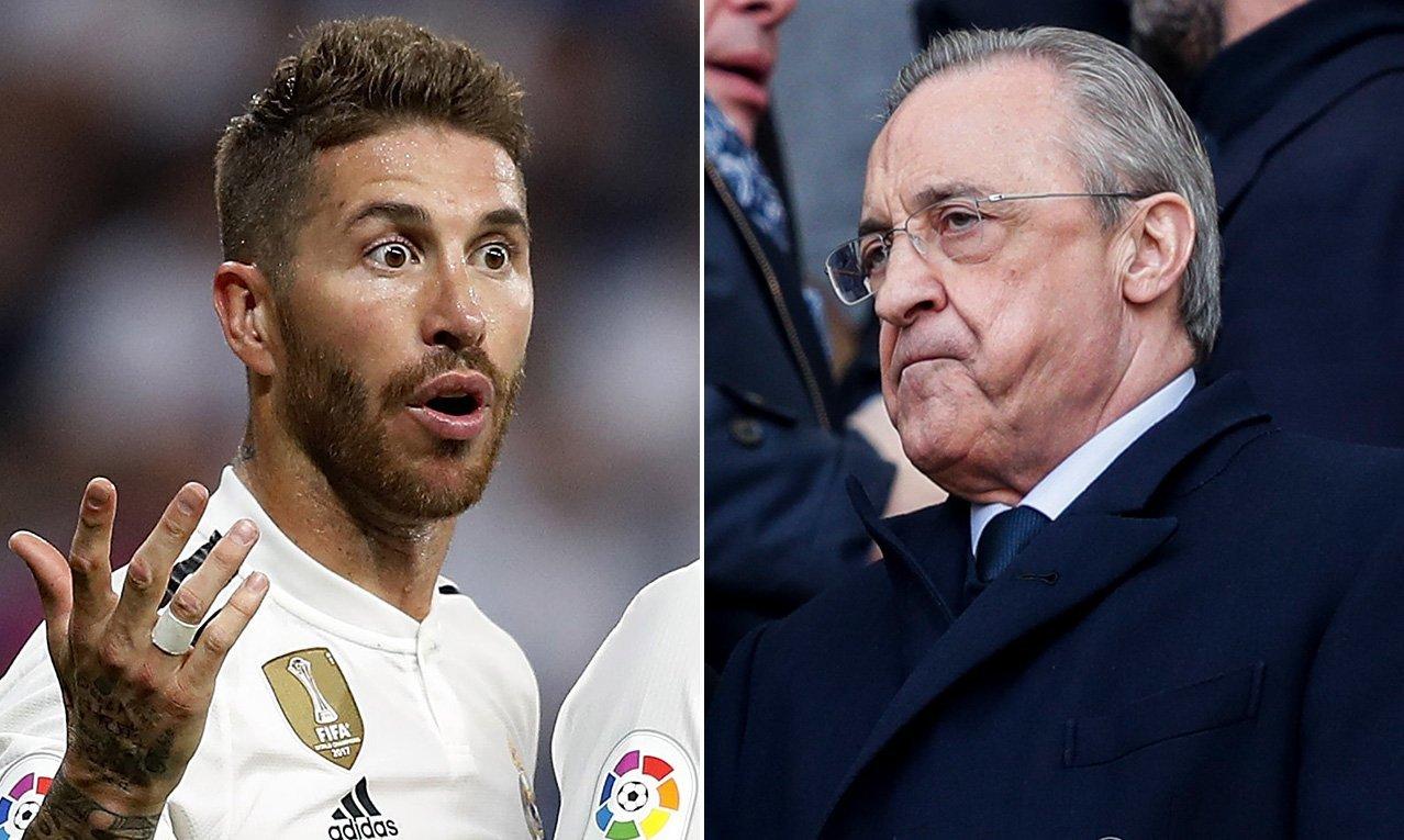 MU,Reinier Jesus,Real Madrid,Florentino Perez,Sergio Ramos