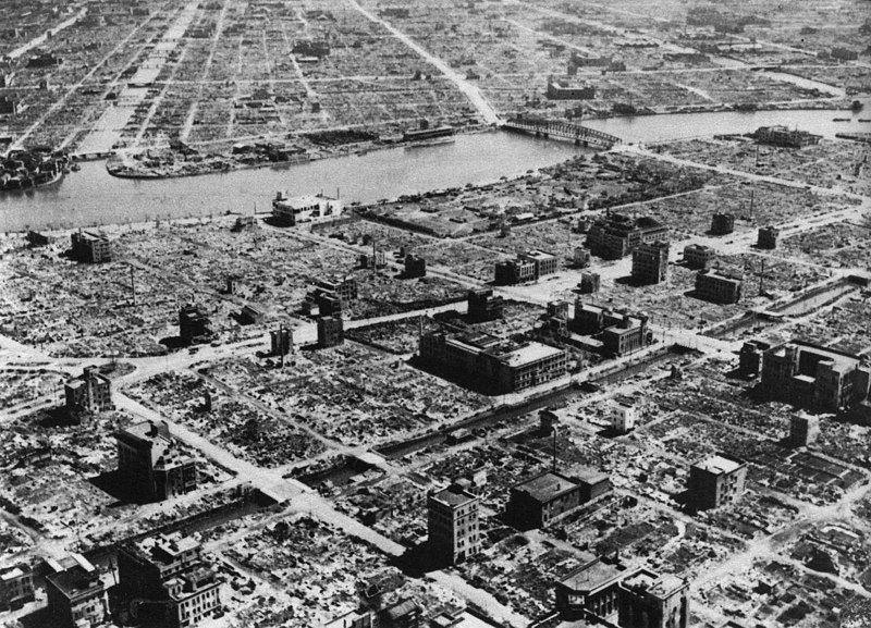 Ngày này năm xưa: Mỹ dội bom lửa thiêu rụi Tokyo