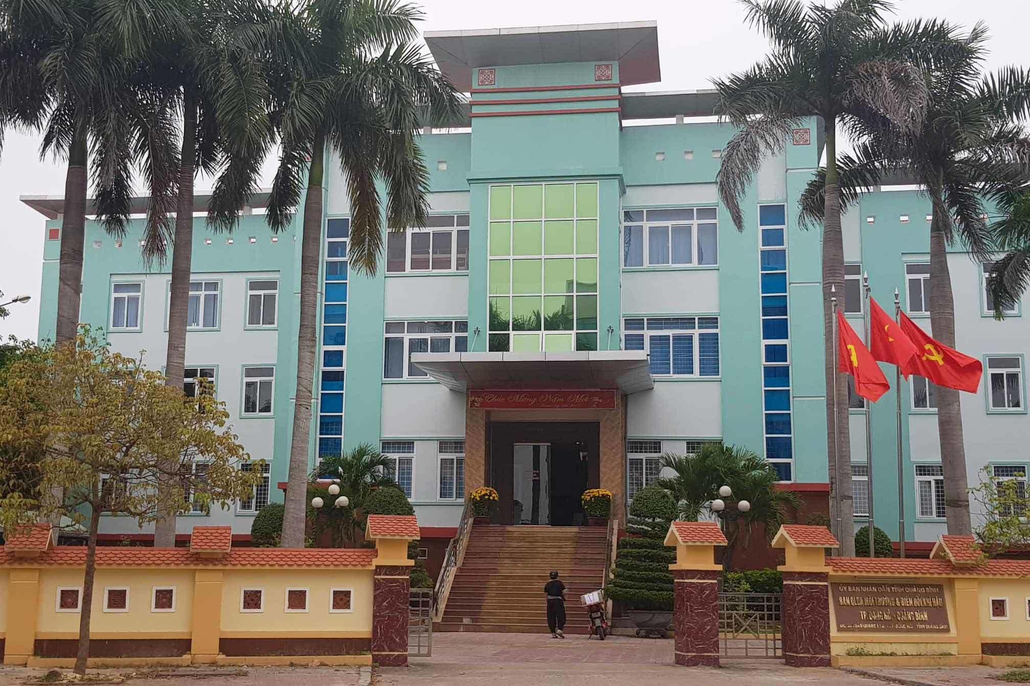 tham nhũng,Quảng Bình