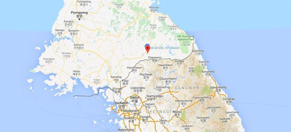 động đất nhân tạo,tâm chấn,Triều Tiên,động đất