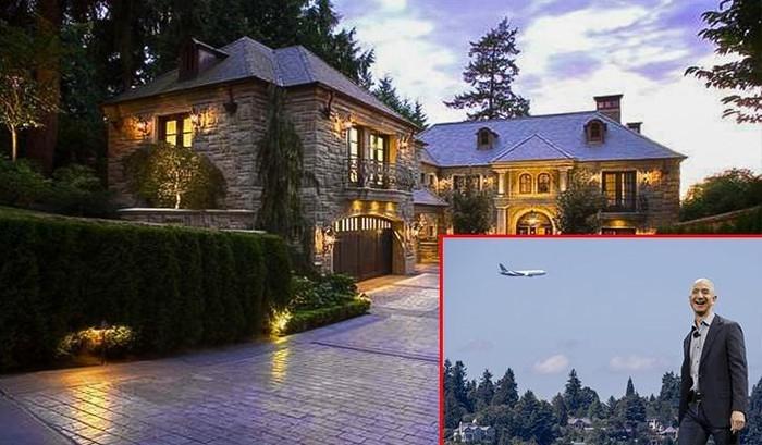 Tận mắt xem nơi ở của những người giàu nhất hành tinh