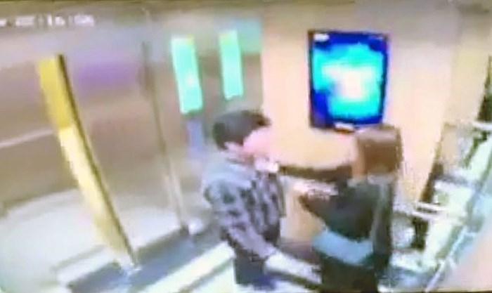 Đối tượng sàm sỡ cô gái trong thang máy đã ra trình diện