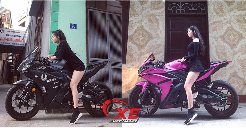 phụ nữ chơi mô tô,nữ biker,nhóm H.Girls Rider Team,phụ nữ lái xe,nữ tài xế,siêu mô tô,mô tô phân khối lớn