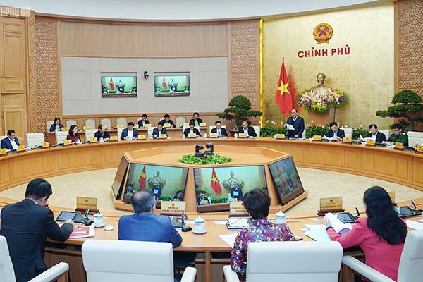 Họp chuyên đề xây dựng pháp luật, Thủ tướng nhấn mạnh tinh thần phân cấp