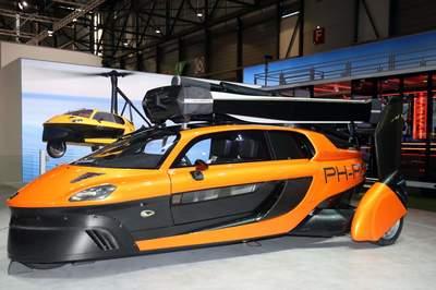 5 mẫu xe bay sắp đến tay người tiêu dùng