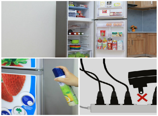 8 điều cấm kỵ khi sử dụng tủ lạnh