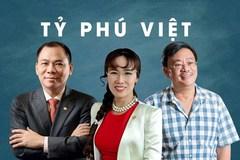 Bộ ba Phạm Nhật Vượng, Nguyễn Đăng Quang, Hồ Hùng Anh thắng lớn