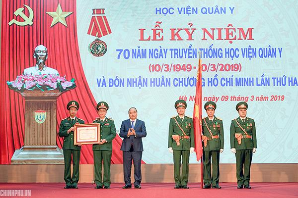 Thủ tướng: Học viên Quân y cần sớm đạt tiêu chí trường trọng điểm quốc gia