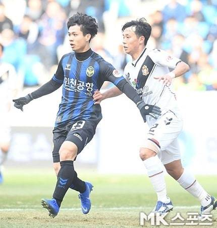 Công Phượng,Incheon United,K-League
