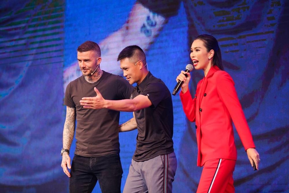 Hà Anh,David Beckham,Công Vinh,Duy Mạnh